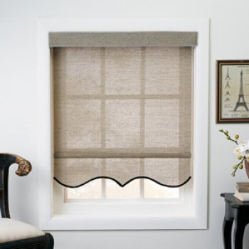 Window Roller Shades Diy Nosew Fabric Covered Blackout Roller